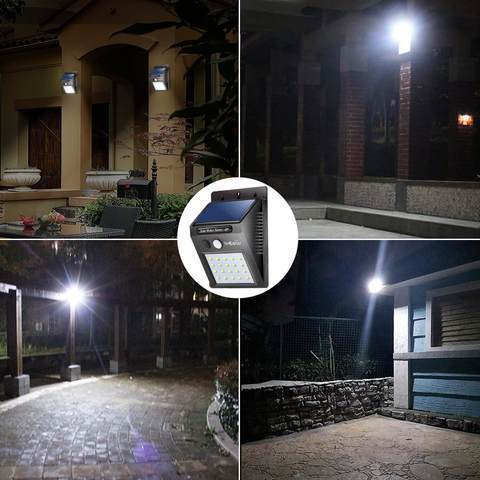 Solar Powered Night Light