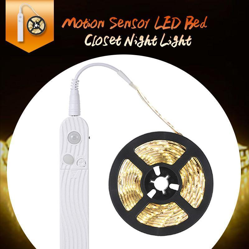 Motion Sensor Bed Closet LED String Light