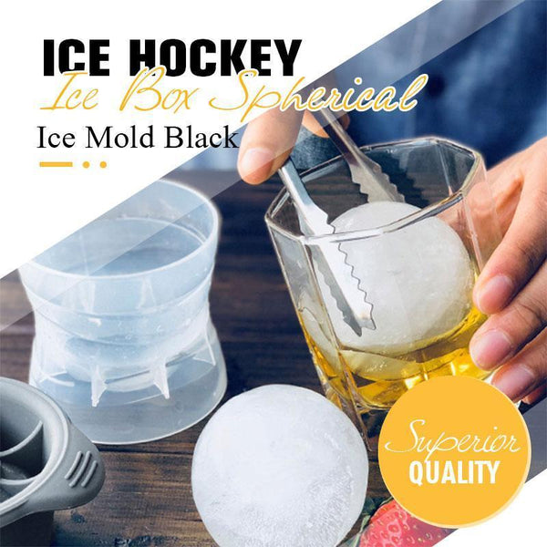 Ice hockey Ice Box Spherical Ice Mold Black