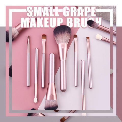 12 PCS  small grape makeup brush