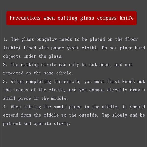 Household Professional Glass Cutter