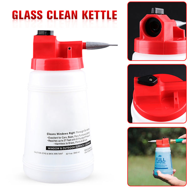 Glass Clean Kettle