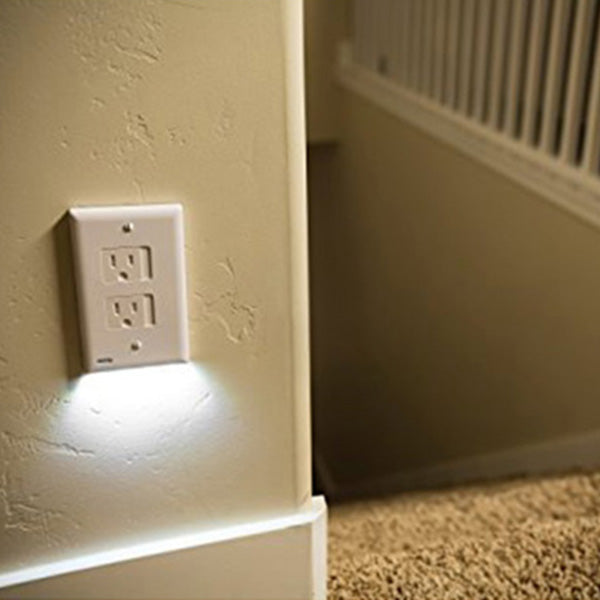 Plug Cover with LED Night Light