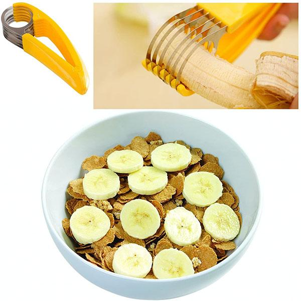 Stainless Steel Banana Cuke Slicer