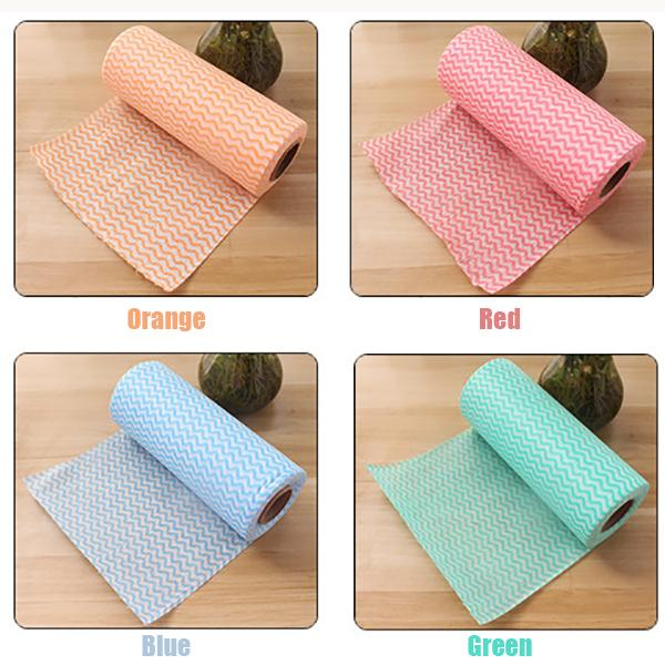 Eco-Friendly Disposable Cleaning Towels