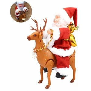 Electric Santa Claus Ornament