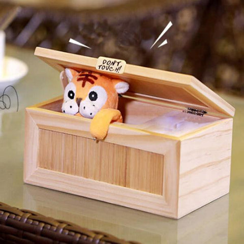 Lovely Tiger Useless Box