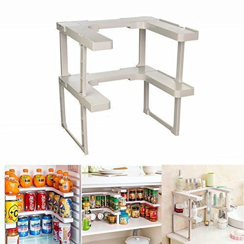 Spice Rack and Stackable Shelf
