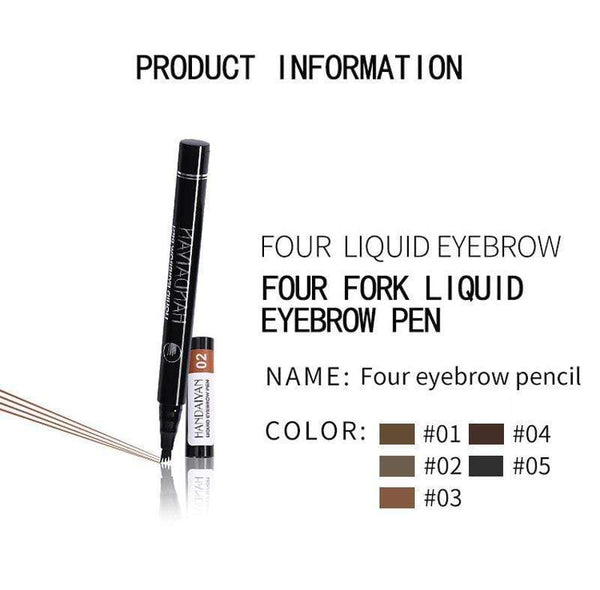 Eyebrow Tattoo Pen with a Micro Fork Tip Applicator
