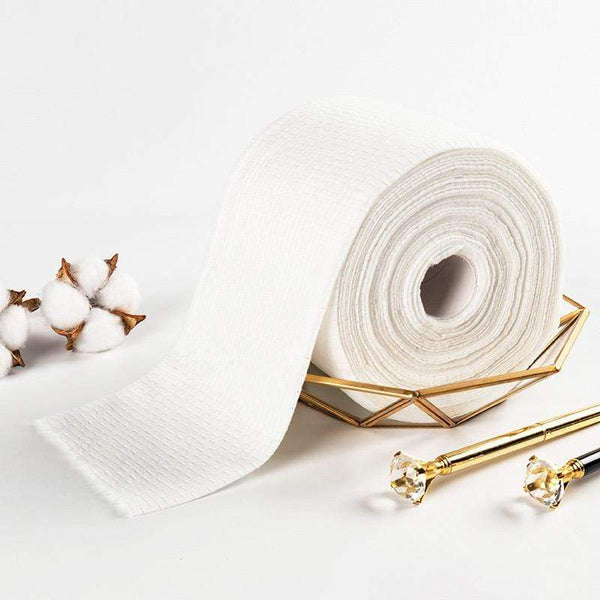 Cotton disposable face towel