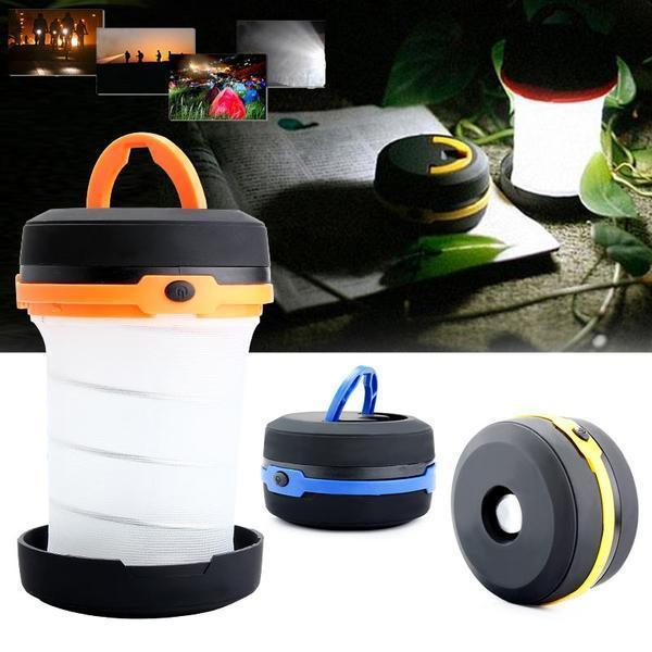 Pop-Up Collapsible LED Flashlight