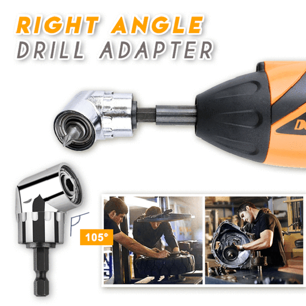 Right Angle Drill Adapter