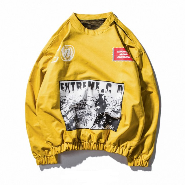 Heights Culture Extreme D.C Baggy Hoodie - Heights Culture