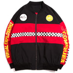 Heights Culture Windbreaker Flight Bomber Baseball Jacket - Heights Culture