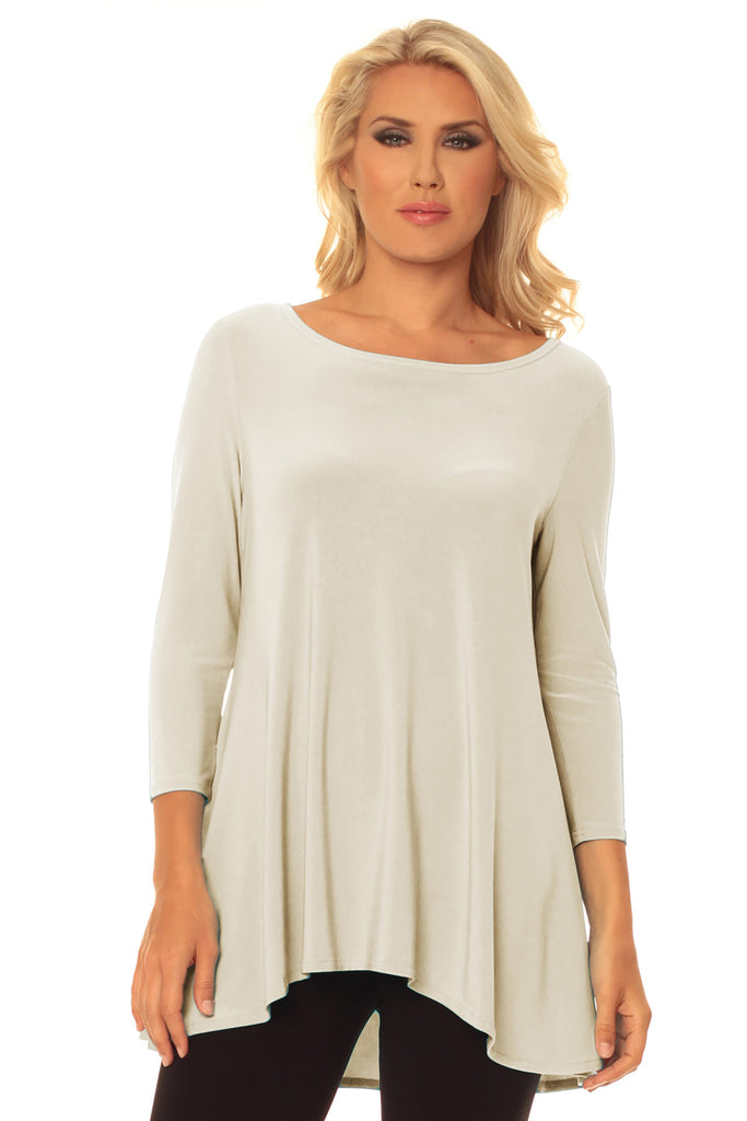 Kennedy High-Low Tunic - Simply Sophisticated
