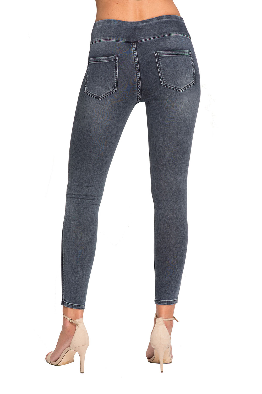 Jane Skinny Denim Jeans - Neutral Colors