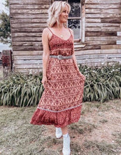 Load image into Gallery viewer, Willow Dress in Cinnamon Spice