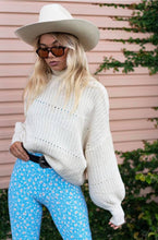Load image into Gallery viewer, Turtleneck Jumper ~ Cream