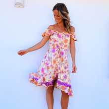 Load image into Gallery viewer, Santana Summer Off the Shoulder Mini