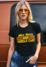 Load image into Gallery viewer, Dive Bars & Muscle Cars Tee