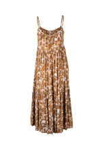 Load image into Gallery viewer, Bohemia Midi Dress Bronze