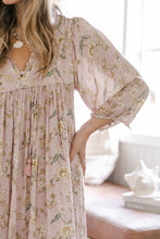 Load image into Gallery viewer, Palm Smock Dress ~ Blush