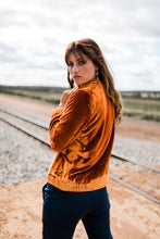 Load image into Gallery viewer, Savannah Embroidered Jacket ~ Marigold