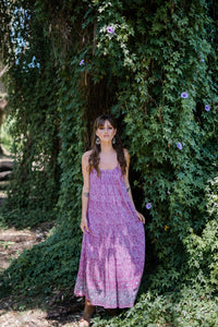 Secret Garden Maxi Dress Wild Orchard