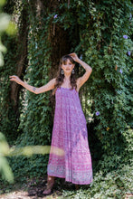 Load image into Gallery viewer, Secret Garden Maxi Dress Wild Orchard