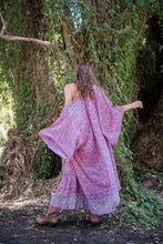 Load image into Gallery viewer, Secret Garden Maxi Kimono