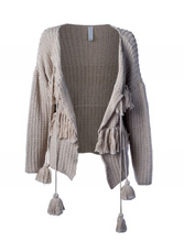Load image into Gallery viewer, Nouvelle Cardigan in Almond