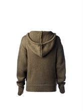 Load image into Gallery viewer, Eden Hooded Cardigan Olivegrove