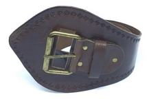 Load image into Gallery viewer, Babushka Leather Belt