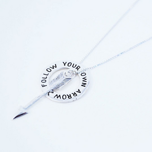 Follow Your Own Arrow Necklace