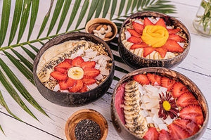 Hand Carved Coconut Bowls