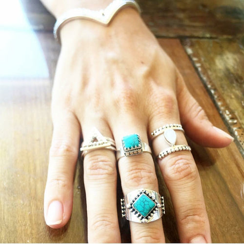 Triangle Stacker Ring