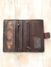 Load image into Gallery viewer, Sunflower Leather Wallet