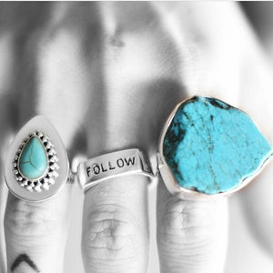 'Follow Your Own Arrow' Ring