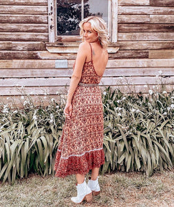 Willow Dress in Cinnamon Spice
