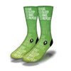 Bike-Sleep-Game-Repeat-Socks-Green