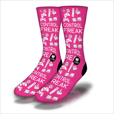 Control-Freak-Socks-Pink