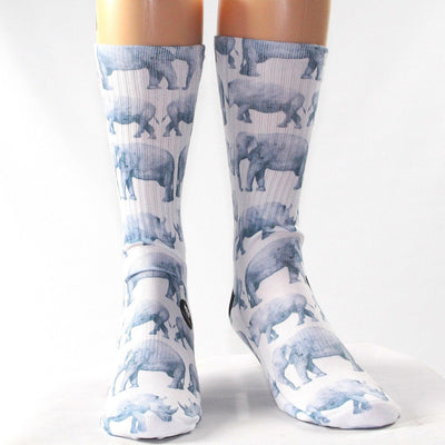 Elephant-And-Rhino-Socks
