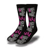Fight-Like-A-Girl-Socks-Black