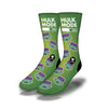 Hulk-Mode-Socks-Green