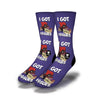 I-Got-Issues-Socks-Purple
