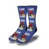 I-Got-Issues-Socks-Blue