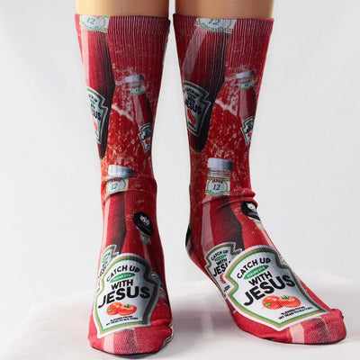 Ketchup-With-Jesus-Socks