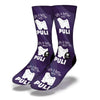 Life-Is-Better-With-A-Puli-Socks-Purple