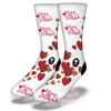 wine-is-my-valentine-socks