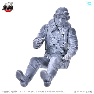 ZOUKIE-MURA SWS13-F01 Toryu Forward Facing Pilot Figure 1:32 Scale